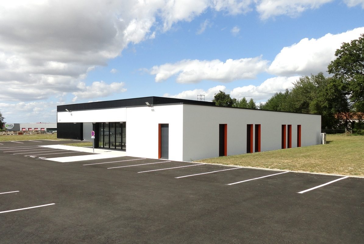 LES HERBIERS-NOVA PREVENTION-Construction de bureaux et local de formation