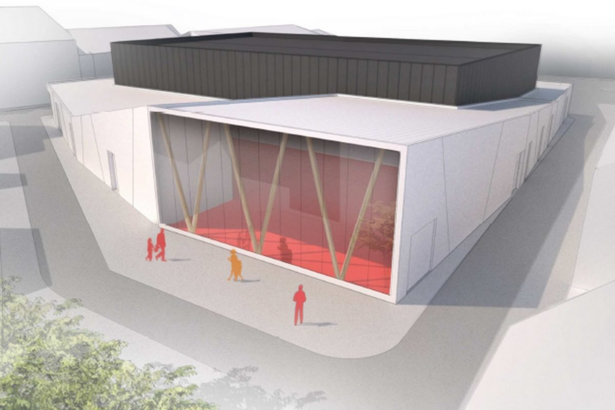 L'HERBERGEMENT - Extension et restructuration de la salle de sports